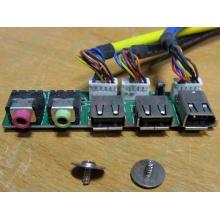 Панель передних разъемов (audio в Истре, USB в Истре, FireWire) для корпуса Chieftec (Истра)