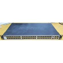Управляемый коммутатор D-link DES-1210-52 48 port 10/100Mbit + 4 port 1Gbit + 2 port SFP металлический корпус (Истра)