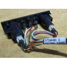 HP 224998-001 в Истре, кнопка включения питания HP 224998-001 с кабелем для сервера HP ML370 G4 (Истра)