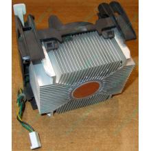 Кулер для процессоров socket 478 с медным сердечником внутри алюминиевого радиатора Б/У (Истра)